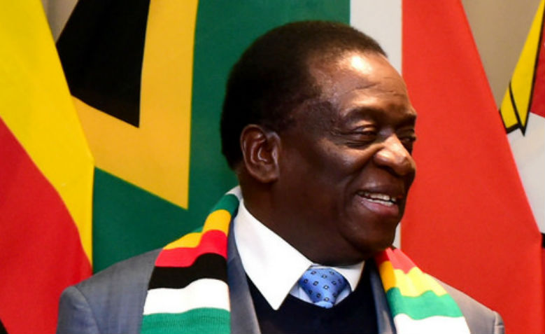 President of Zimbabwe, Emmerson Dambudzo Mnangagwa. Photo: Flickr / GovernmentZA
