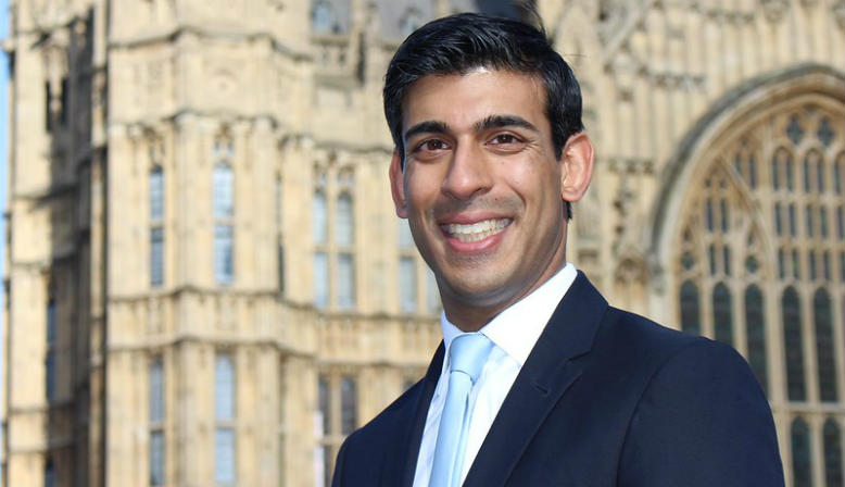 Rishi Sunak MP. Source: Flickr - MHCLG