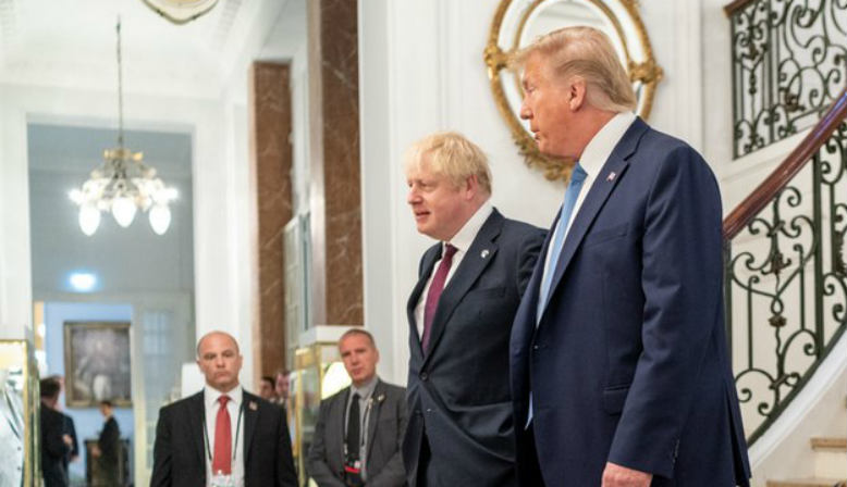 Boris Johnson with Donald Trump. Source: Wikipedia