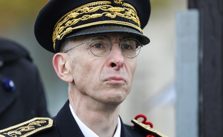 Didier Lallement, chief of Paris police. Photo: En24 News