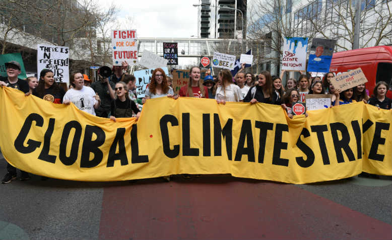 Climate strike, Canberra. Photo: Flickr/Stephen Smith
