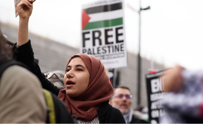 Palestine protest, 2019. Photo: Jim Aindow