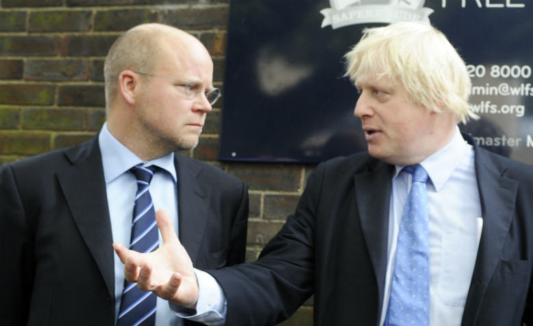 Toby Young and Boris Johnson. Photo: Flickr/Hammersmith and Fulham Council