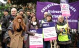 Pickets in Oxford