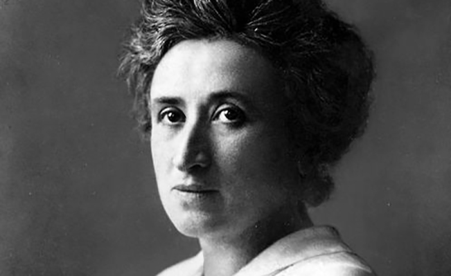 Portrait of Rosa Luxemburg. Source: Wikimedia