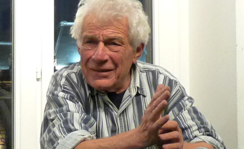 John Berger in Strasbourg, 2009. Photo: Wikimedia Commons