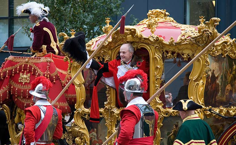 John Stuttard, Lord Mayor of the City of London, 2006 / 07. Photo: Wikipedia