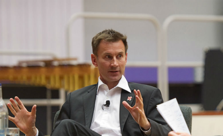 Jeremy Hunt. Photo: Flickr/University of Salford Press Office, 2012