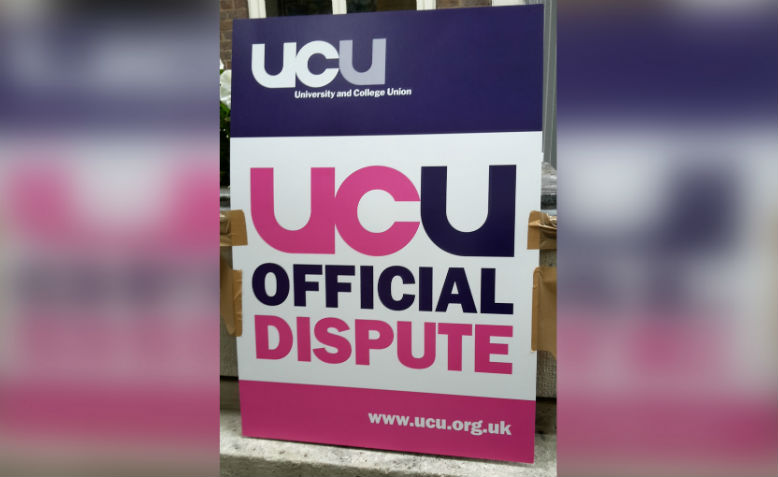 UCU strike at SOAS, May 2016. Photo: Shabbir Lakha