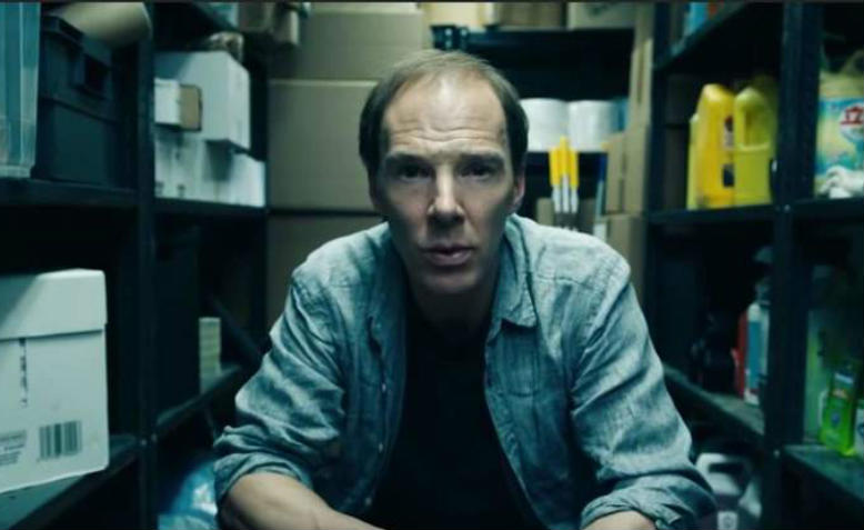Benedict Cumberbatch in a scene from Channel 4's Brexit: the uncivil war