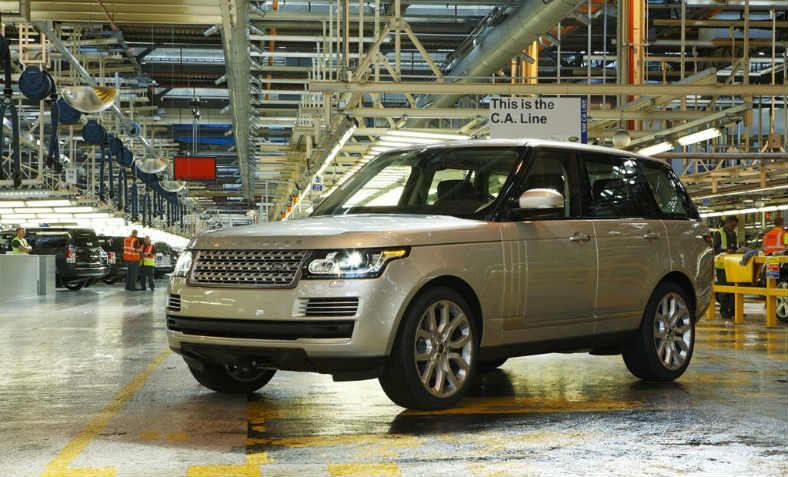 """The All-New Range Rover"", 2012. 4,500 job cuts were announced by Jaguar Land Rover for the UK last week. Photo: Wikmedia Commons"