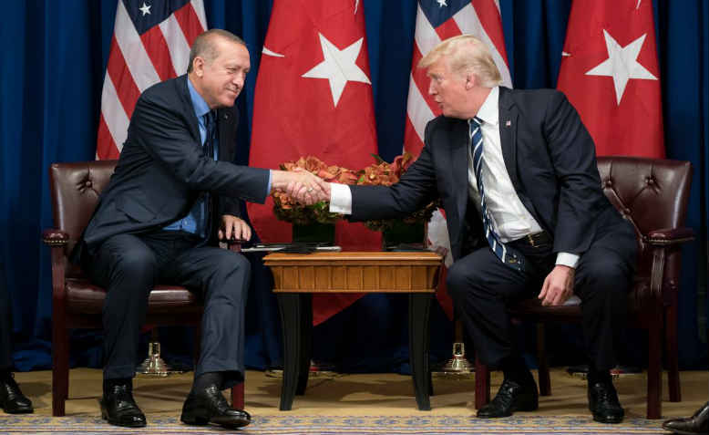 Trump and Erdoğan at the UN, 2017. Photo: wikimedia commons