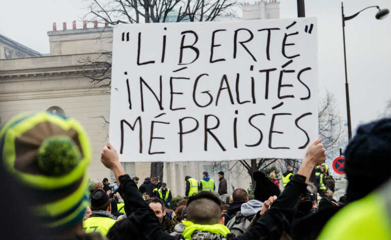 Yellow Vests protest in Paris, 5 Jan 2019. Photo: Wikimedia Commons