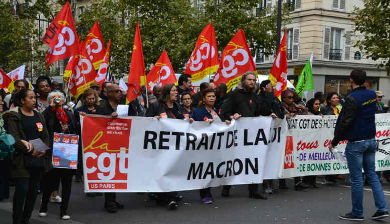 French union mobilisation Photo: Wikimedia commons