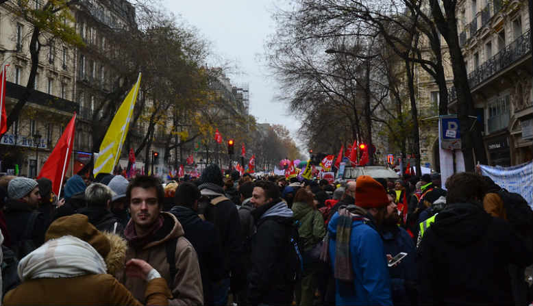 Strikes in France: Flickr