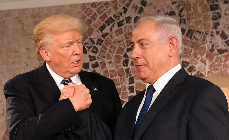 Trump, Netanyahu. Photo: Wikimedia Commons