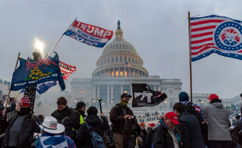Trump supporters storm Capitol Building, 6 January