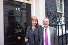 REAch2′s chief executive & deputy, Steve Lancashire & Cathie Paine met the PM, May 2014