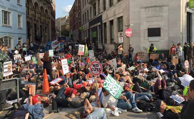 Bristol's Austerity Kills Protests