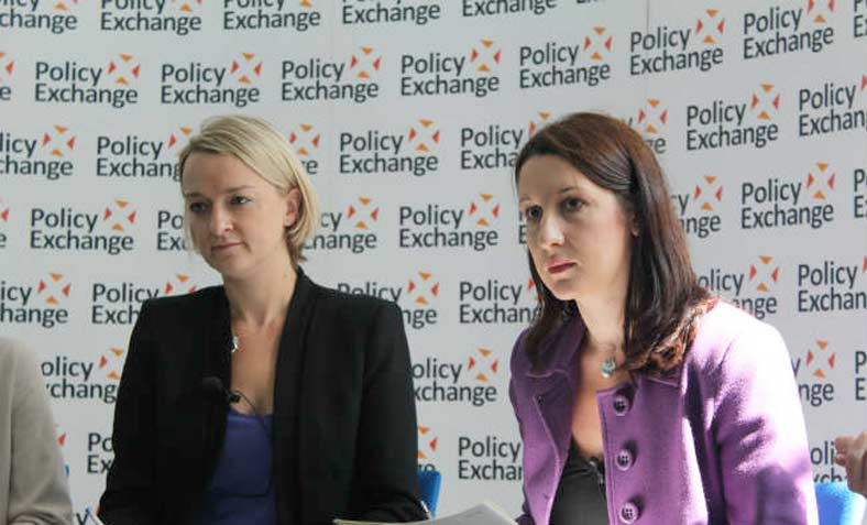 Kuenssberg at Policy Exchange in 2012. Photo: Policy Exchange/ Flickr