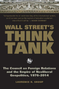 book cover for Wall Street's Think Tank