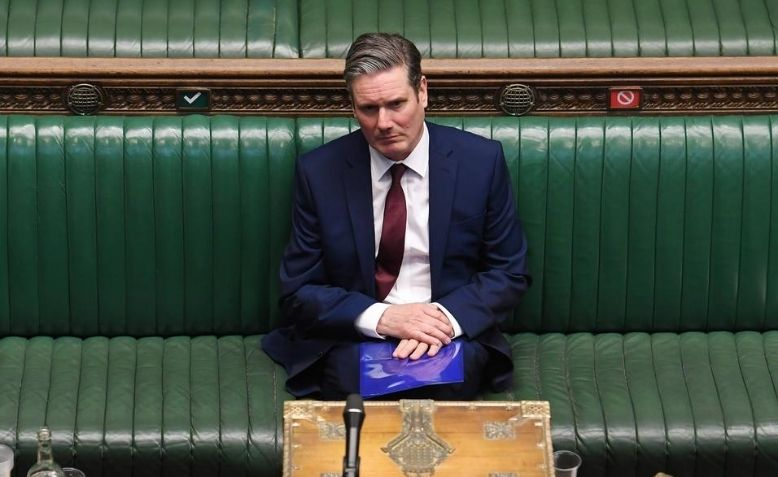 Keir Starmer in the House of Commons chamber Photo: Flickr - Uk Parliament / Jessica Taylor / cropped from original / licensed under CC 2.0, links at the bottom of article