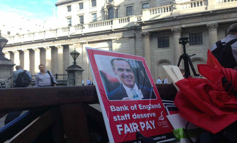 Bank of England strike