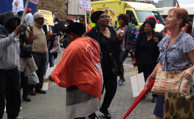 cleaners strike
