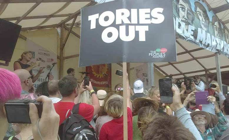 Tolpuddle Corbyn Speech. Photo: Kevin Potter