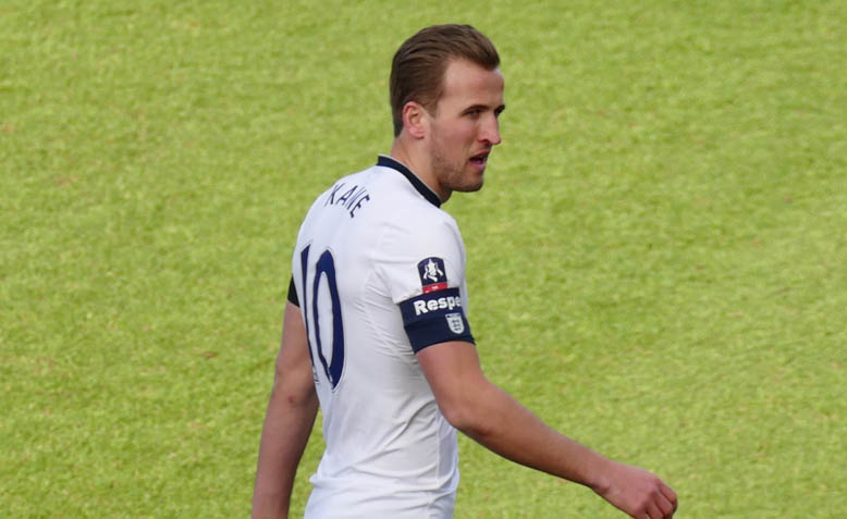 England Captain, Harry Kane. Photo: Wikipedia