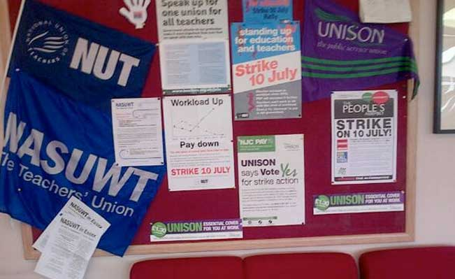 Union notice board