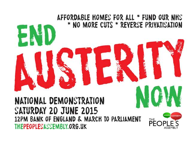 End Austerity Demo