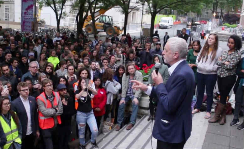 corbyn at soas