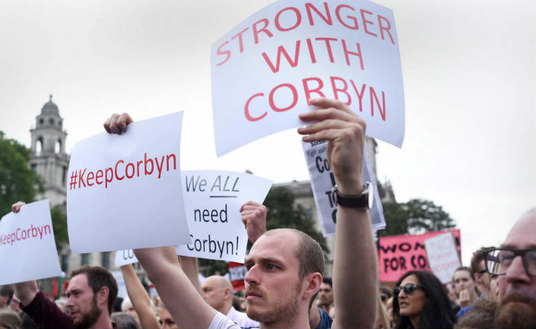 defend corbyn rally
