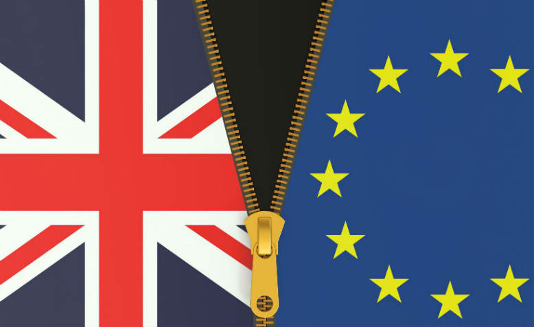 The Union Flag and EU Flag. Graphic: 123rf
