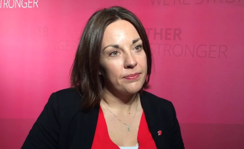 Kezia Dugdale, Ex-leader of the Scottish Labour Party. Photo: Vimeo