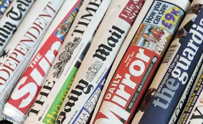 British newspapers. Photo: Wikipedia