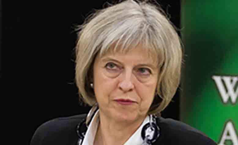 Theresa May. Photo: Flickr / UK Home Office