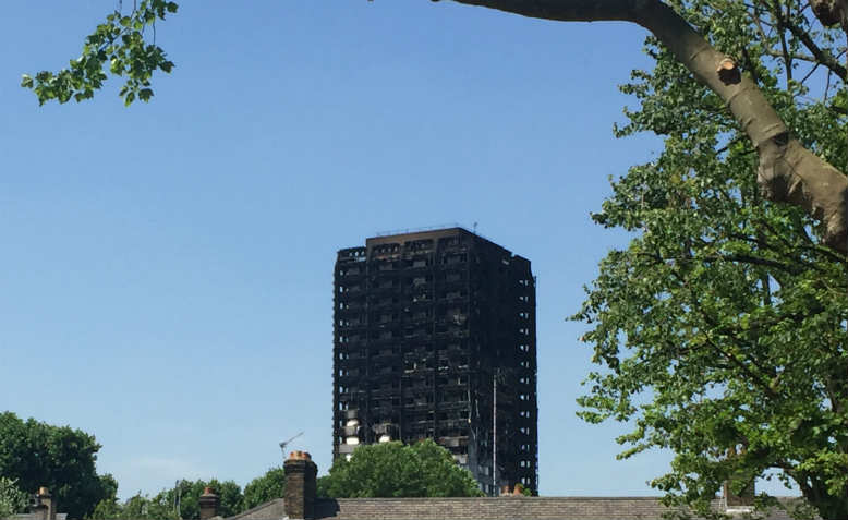 Grenfell Tower. Photo: Flickr/Matt Brown