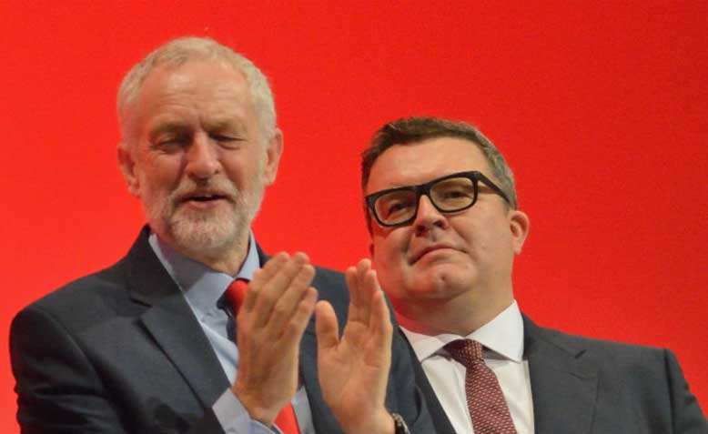 Jeremy Corbyn and Tom Watson 2016 Labour Party Conference Photo Wikimedia Commons