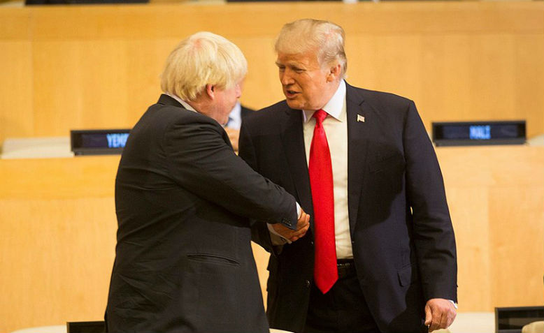 Donald Trump and Boris Johnson