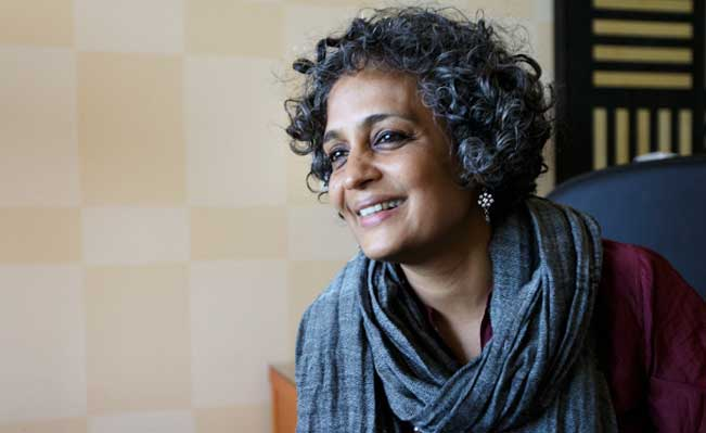 Arundhati Roy: Renowned Indian author speaks in Vancouver tonight. Photo for The Tyee by David P. Ball.