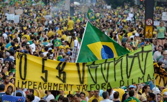 Demonstrations in Brazil