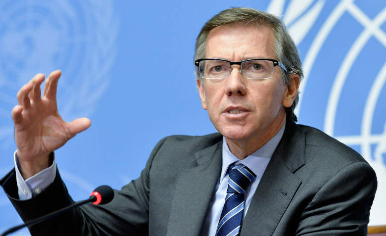 Head of the UN Support Mission in Libya (UNSMIL), Bernardino Léon
