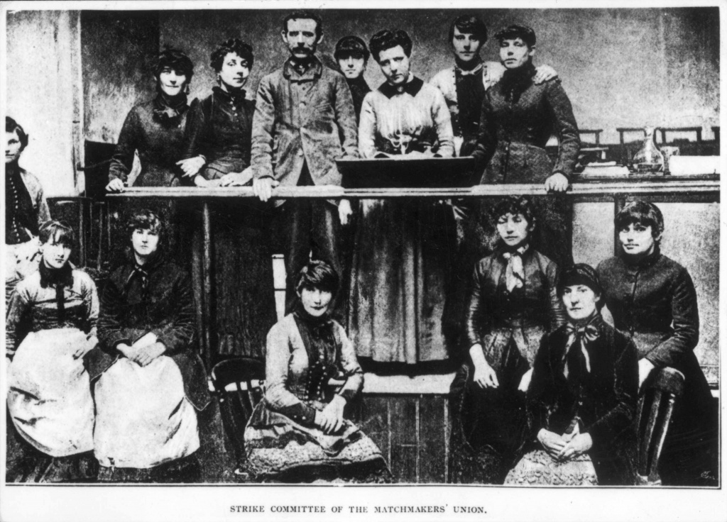 Bryant and May match girls strike committee, 1888
