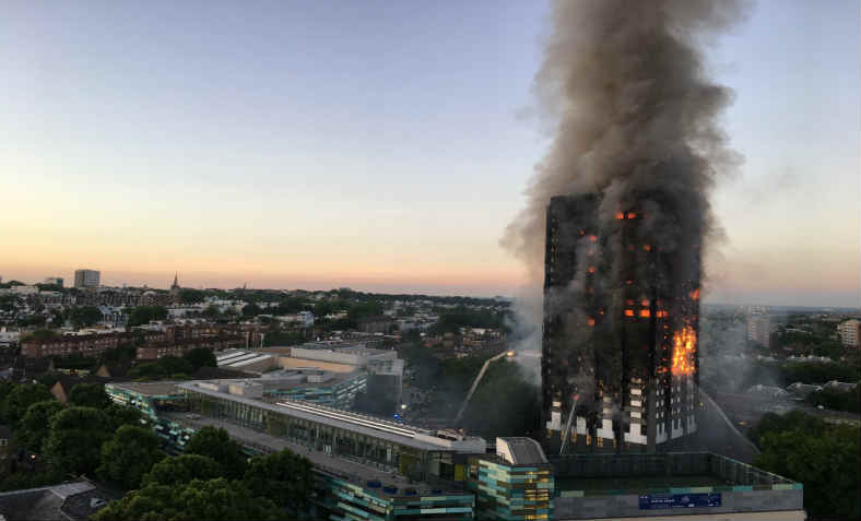 Grenfell Tower Fire: Photo: Wikimedia Commons