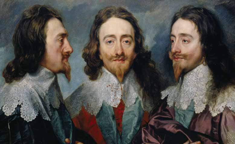 Van Dyke, Charles I in Three Positions. Photo: Wikipedia