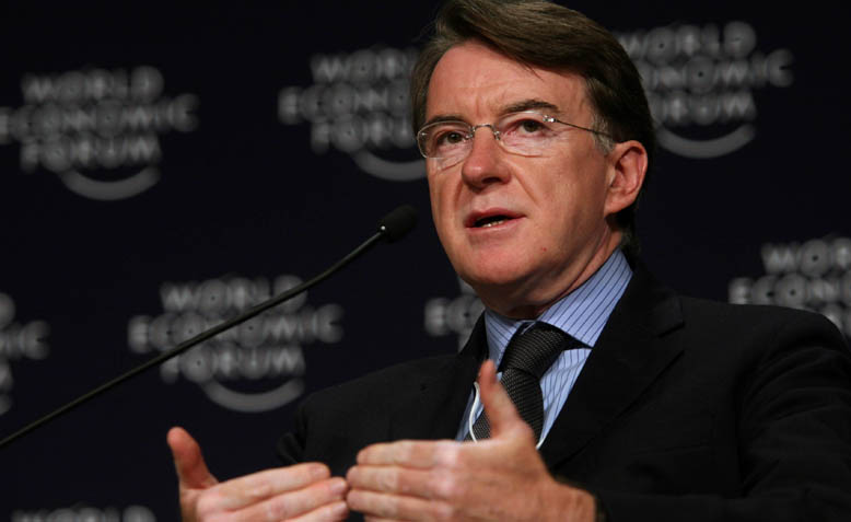 Peter Mandelson, Ex Labour MP, and a vociferous advocate of the single market. Photo: Wikipedia