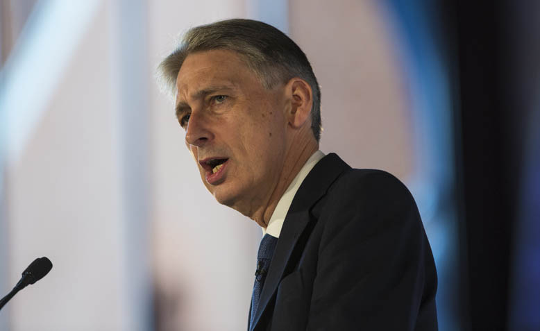 Chancellor of the Exchequer, Philip Hammond, speaking at Chatham House. Source: Flickr / Chatham House