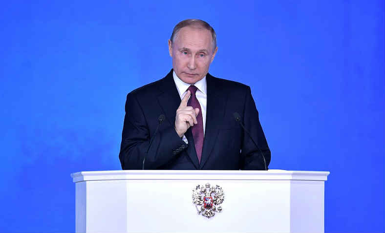 Putin Addresses Federal Assembly: photo: uncredited